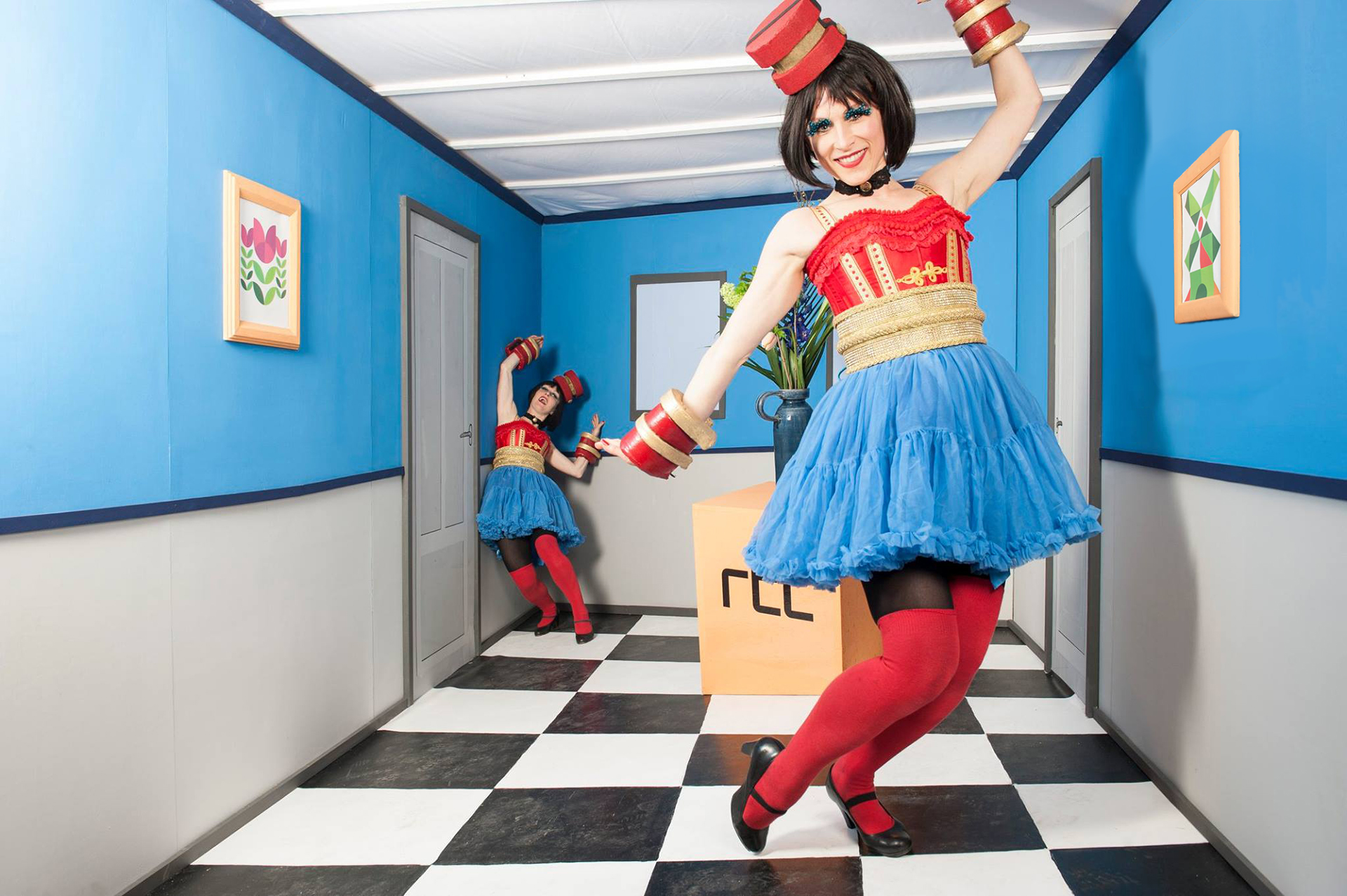 RTL - optische illusie fotobooth